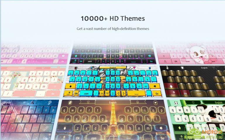 GO Keyboard - Emoji, Sticker
