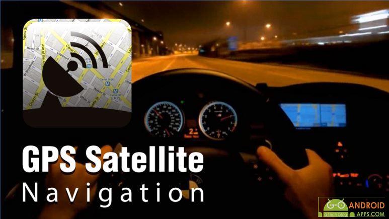 GPS satellite navigation app