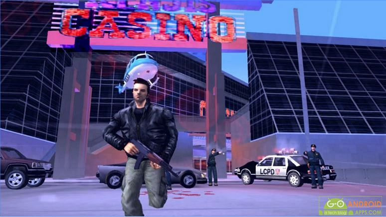 Grand Theft Auto III Game