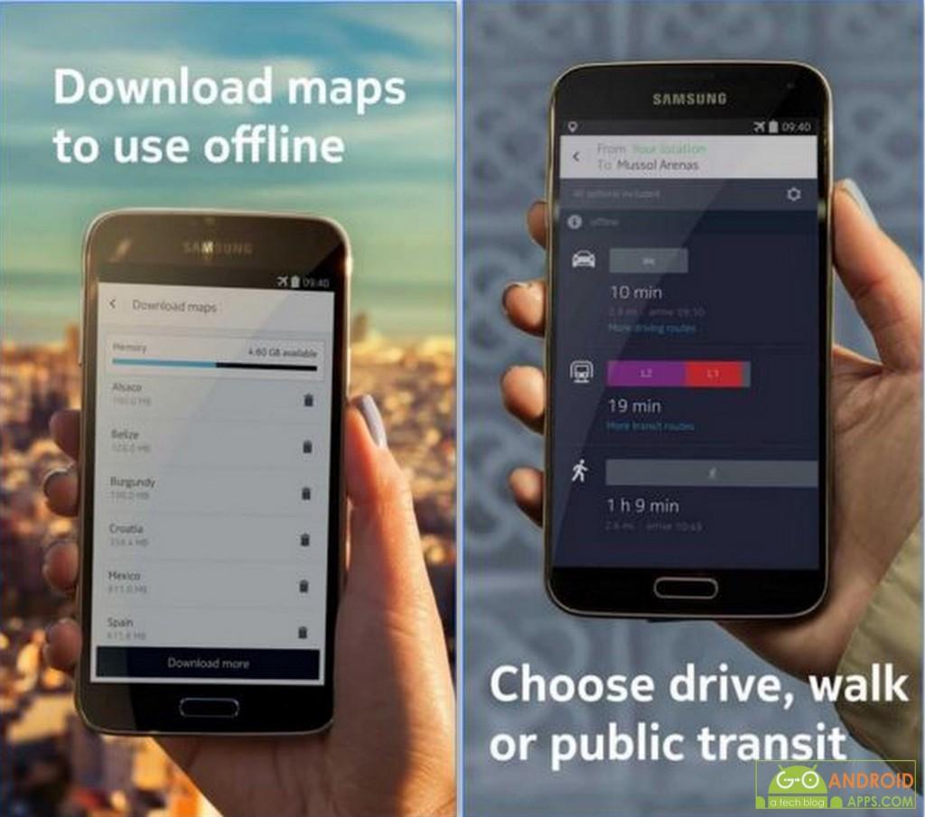 HERE Maps Offline Navigation