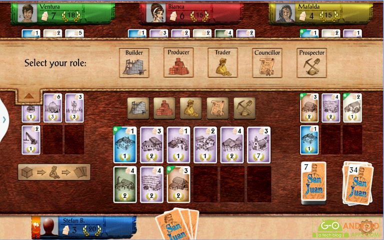 San Juan Android Card Game