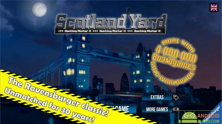 Scotland Yard Android Board Game