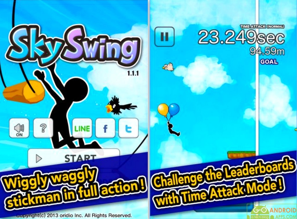 SkySwings Android Game