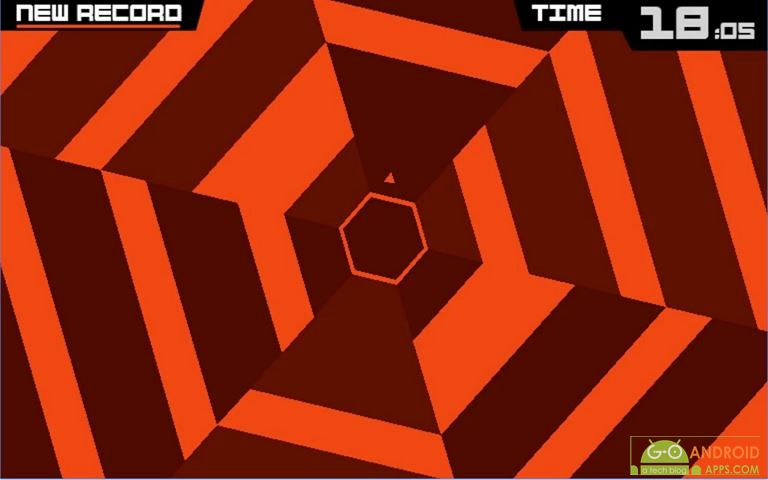 Super Hexagon Arcade Game