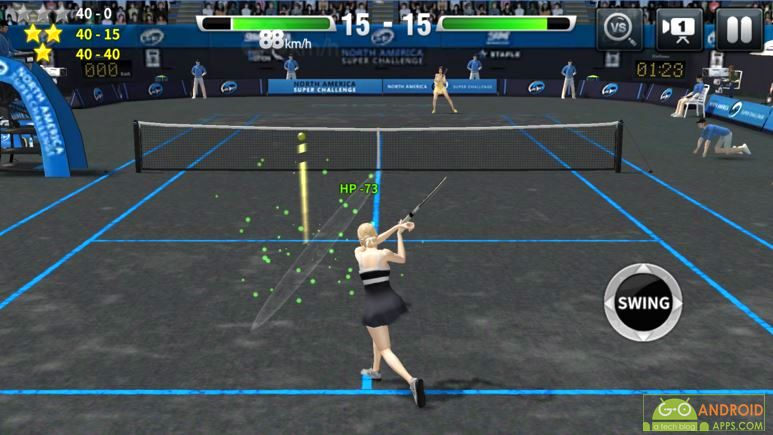 Ultimate Tennis Android Game