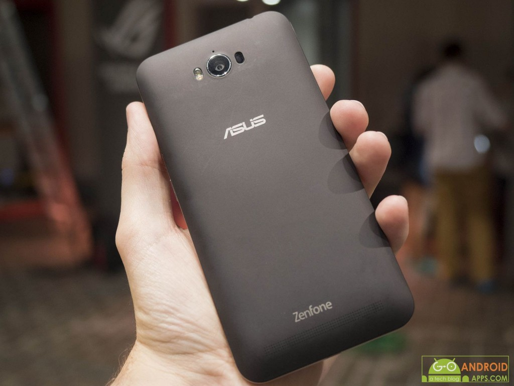 ASUS ZenFone Max Back Image