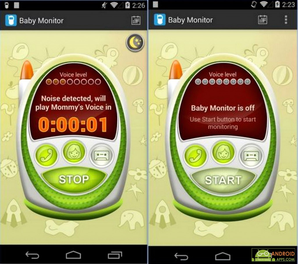 Baby Monitor & Alarm App