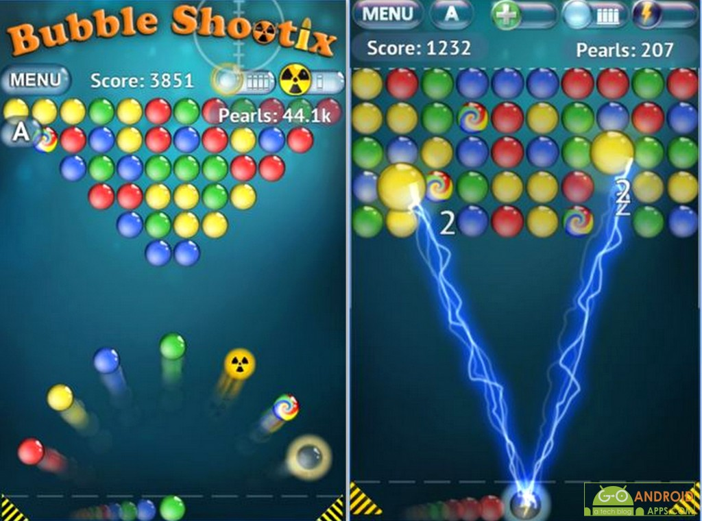 Bubble Shooter - Android Wear Game