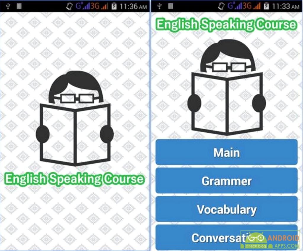 English Speaking Course App