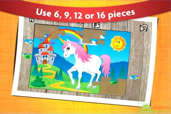 Kids Animals Jigsaw Puzzles Game