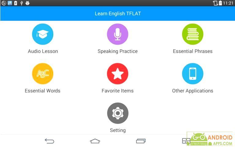 Learn English Conversation App