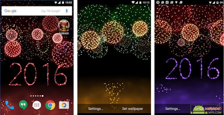 New Years Fireworks App