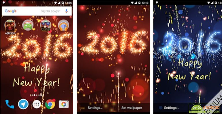 New Years live wallpaper App