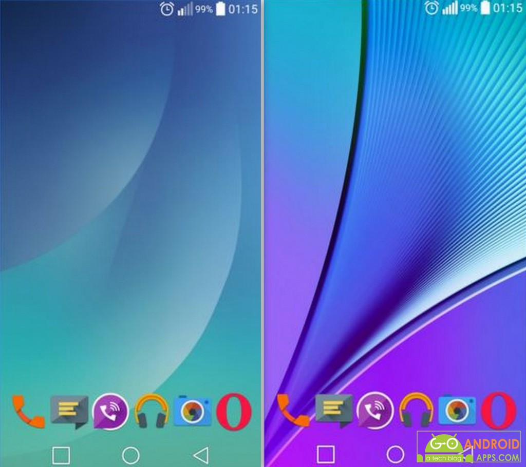 Note 5 Live Wallpapers App