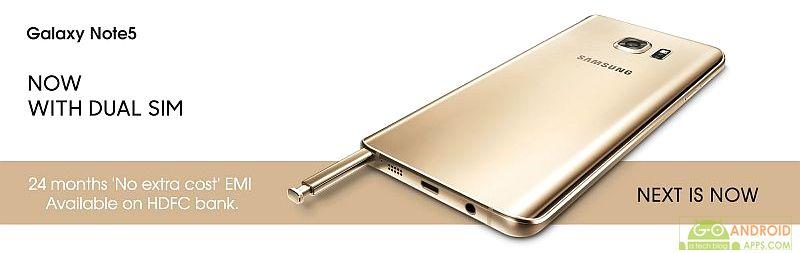 Samsung Galaxy Note 5 Dual SIM Device