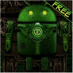 Steampunk Droid Free Wallpaper