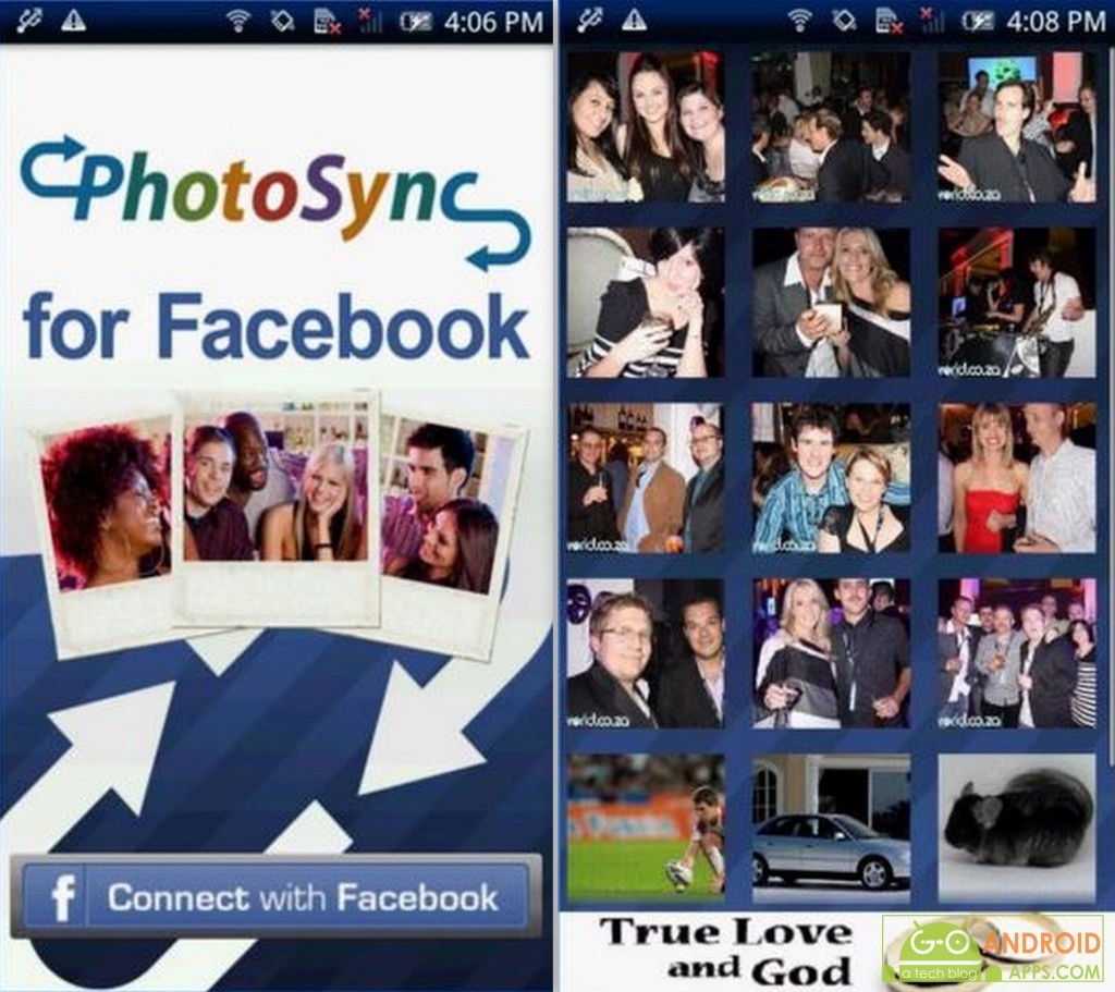 Tagged Photo Sync for Facebook App
