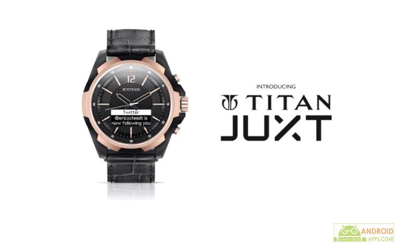 Titan launches JUXT smartwatch
