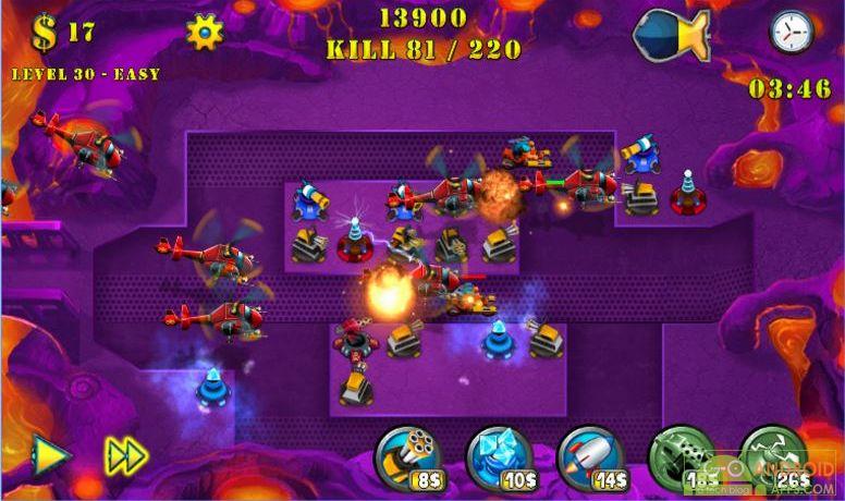 Tower Defense Evolution 2 Game