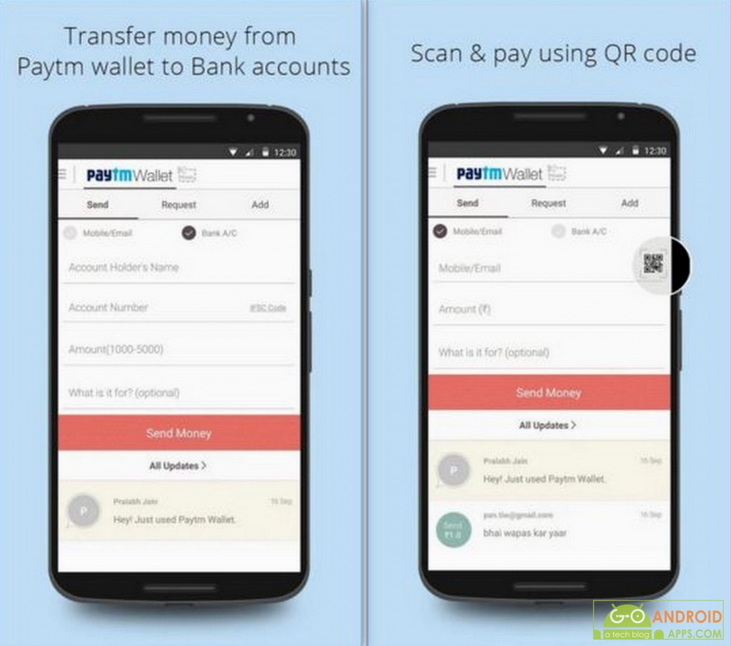 Wallet Send & Get Money App