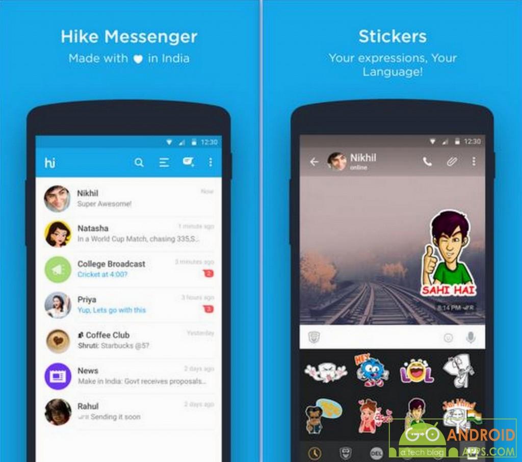 hike messenger app