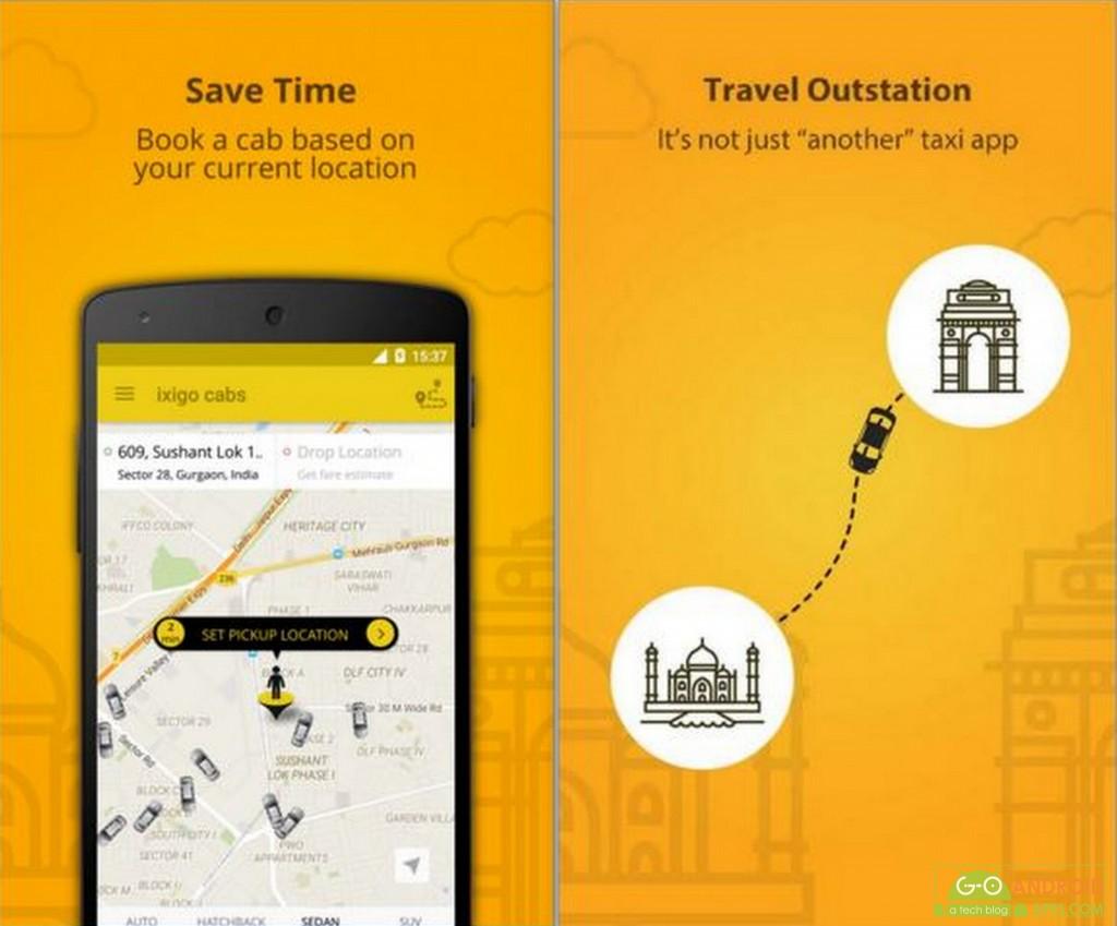 ixigo cabs-book taxis in India
