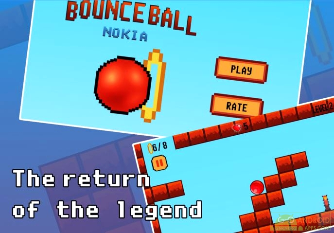 Bounce Ball - HD Original Android Game, Java Games for Android