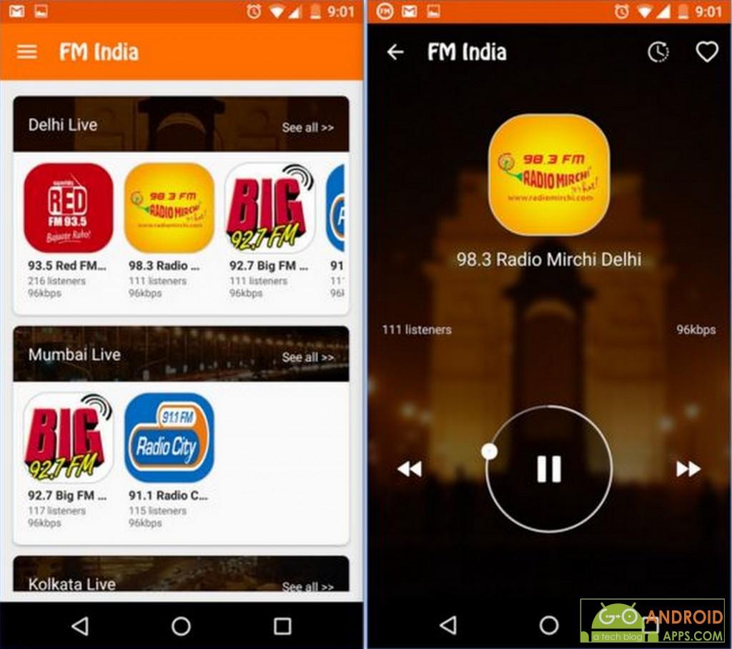 FM Radio India App