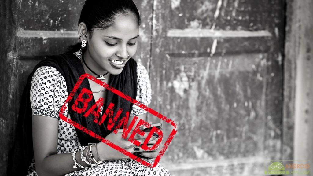 Gujarat Village bans mobiles for single women