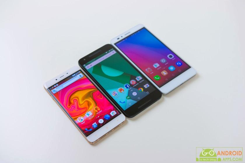 Huawei Honor 5X vs Nexus 5X vs OnePlus X