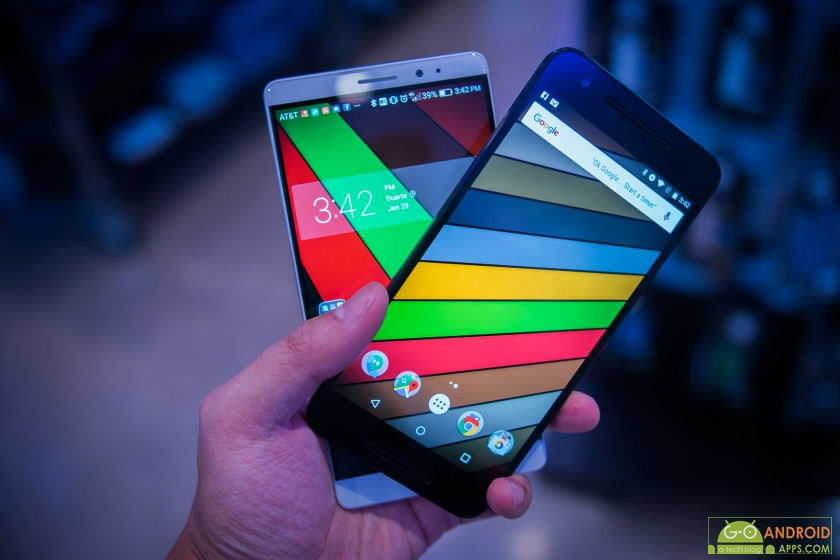 Huawei Mate 8 vs Nexus 6P Image