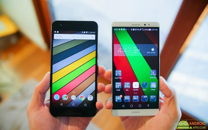 Huawei Mate 8 vs Nexus 6P Review