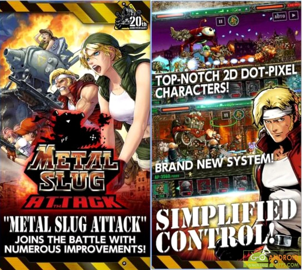 METAL SLUG ATTACK GAME FOR ANDROID