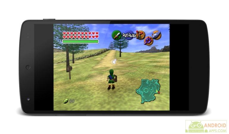 MegaN64 (N64 Emulator) Game