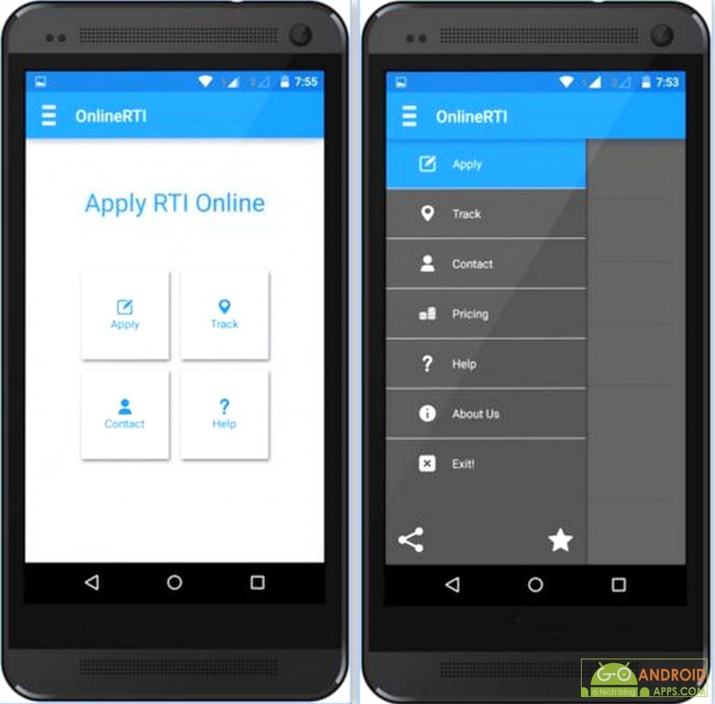 OnlineRTI - File RTI Online App