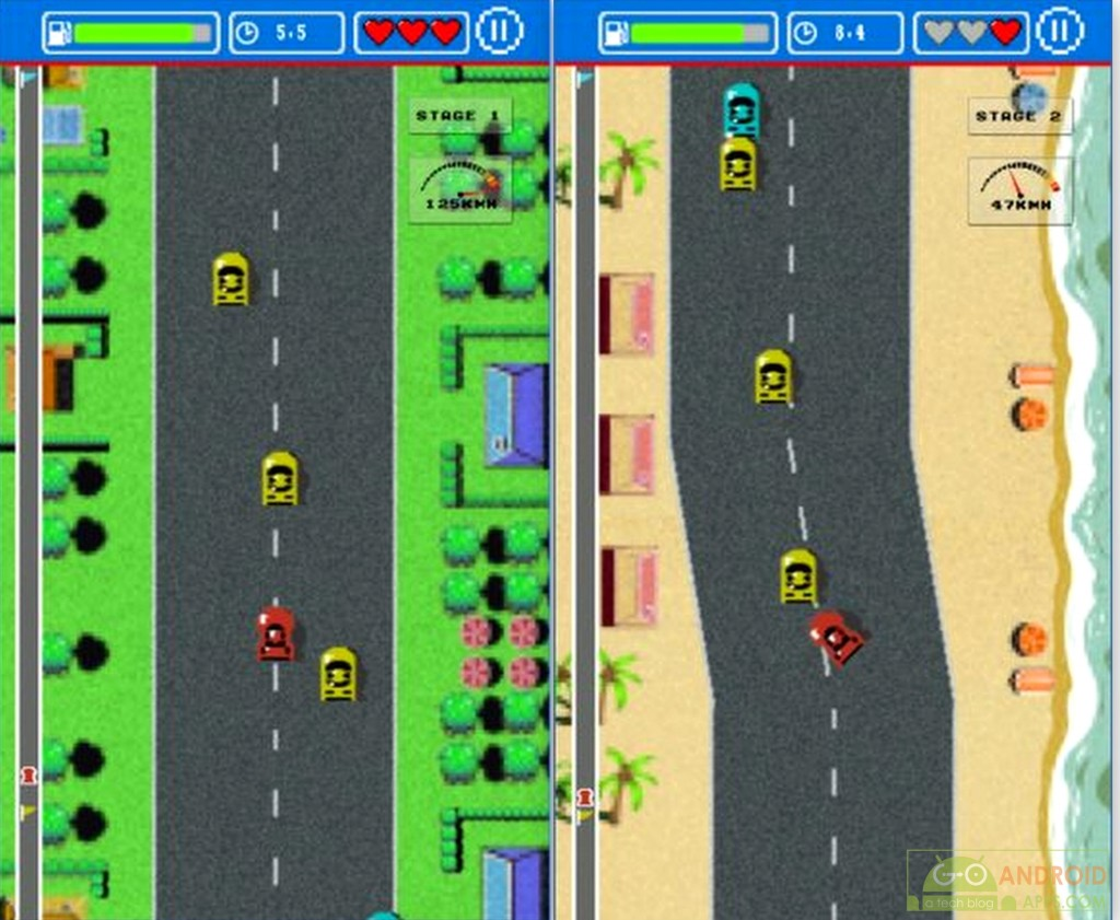 Road Fighter App for Android