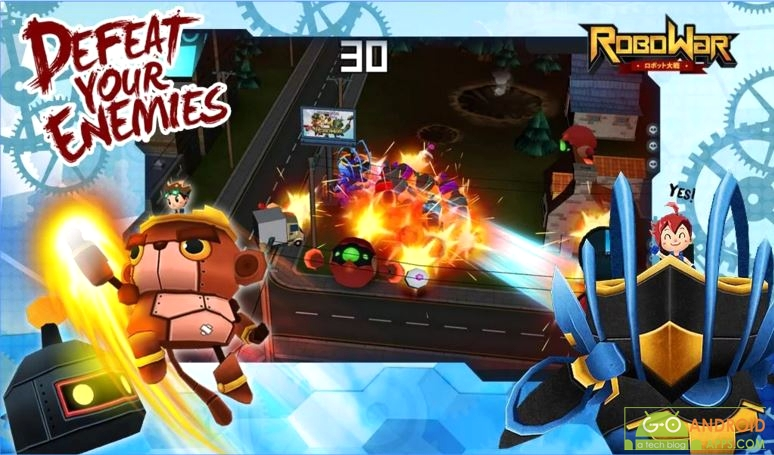 RoboWar Game for Android, Android Games Weekly