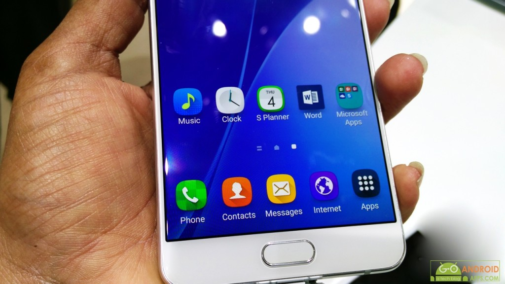 Samsung Galaxy A7 Display