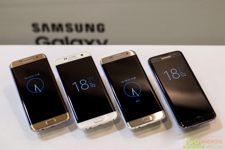 Samsung Galaxy S7 Colours