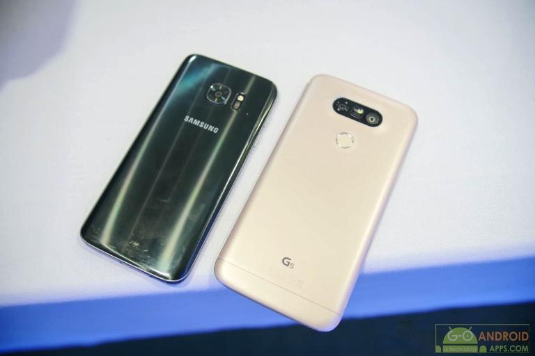 Samsung Galaxy S7 vs LG G5 Camera