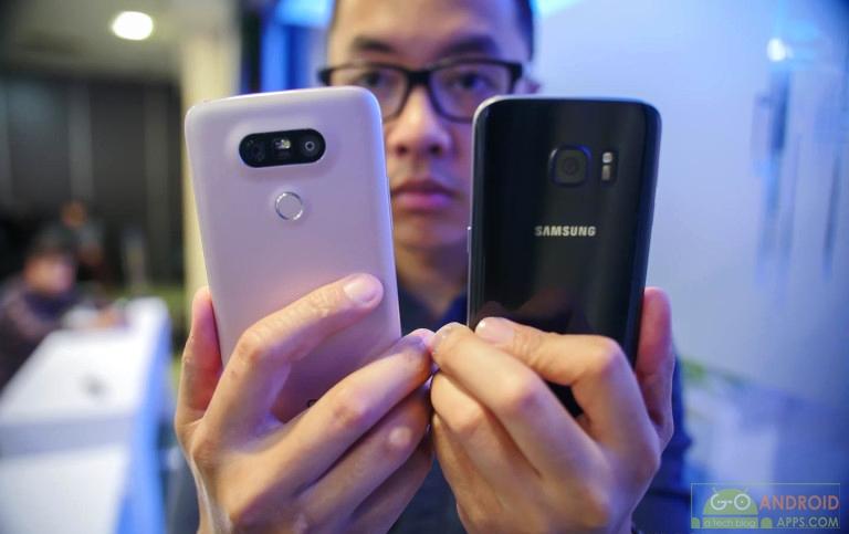 Samsung Galaxy S7 vs LG G5 Review