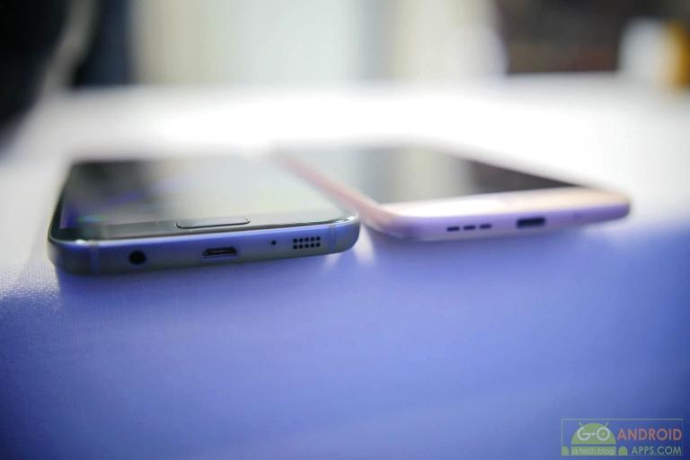 Samsung Galaxy S7 vs LG G5 mobile