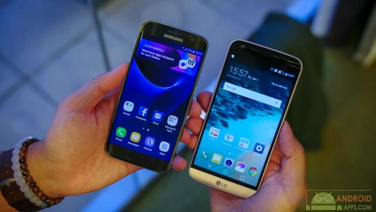 Samsung Galaxy S7 vs LG G5