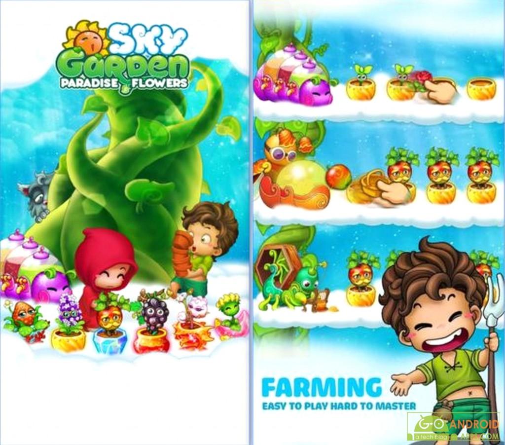 Sky Garden Paradise of Farmer
