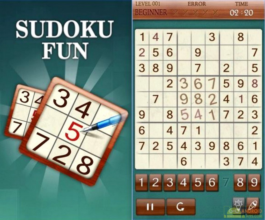 Sudoku Fun Game for Android