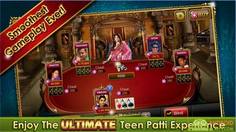 Ultimate Teen Patti Android Game, Grossing Android Games