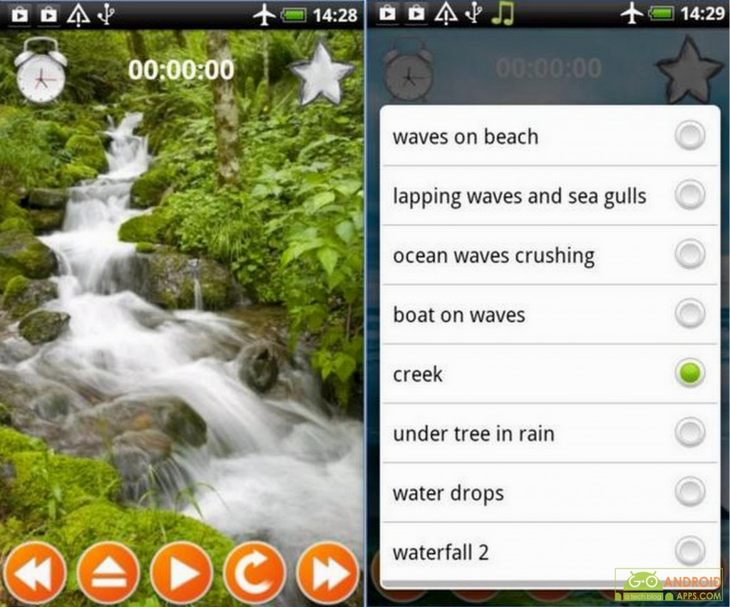 Waterfall Sounds Nature Sounds App