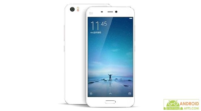 Xiaomi Mi 5 white leaked image