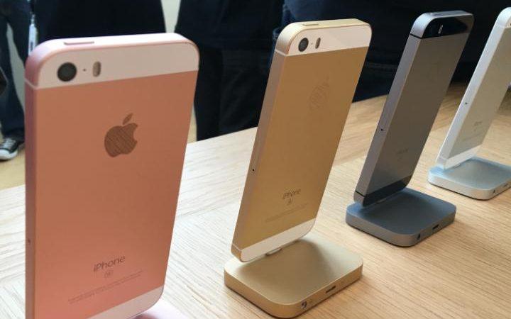 Apple iPhone SE Colours