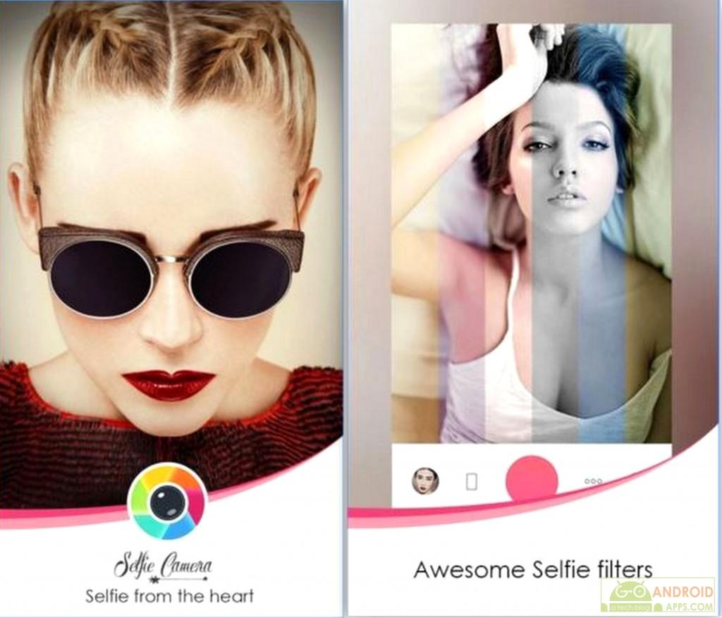Candy Selfie camera App